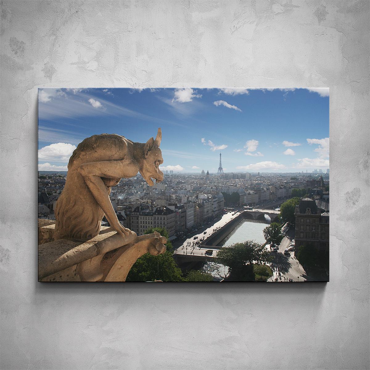 Obraz - Chrliče Notre Dame - PopyDesign