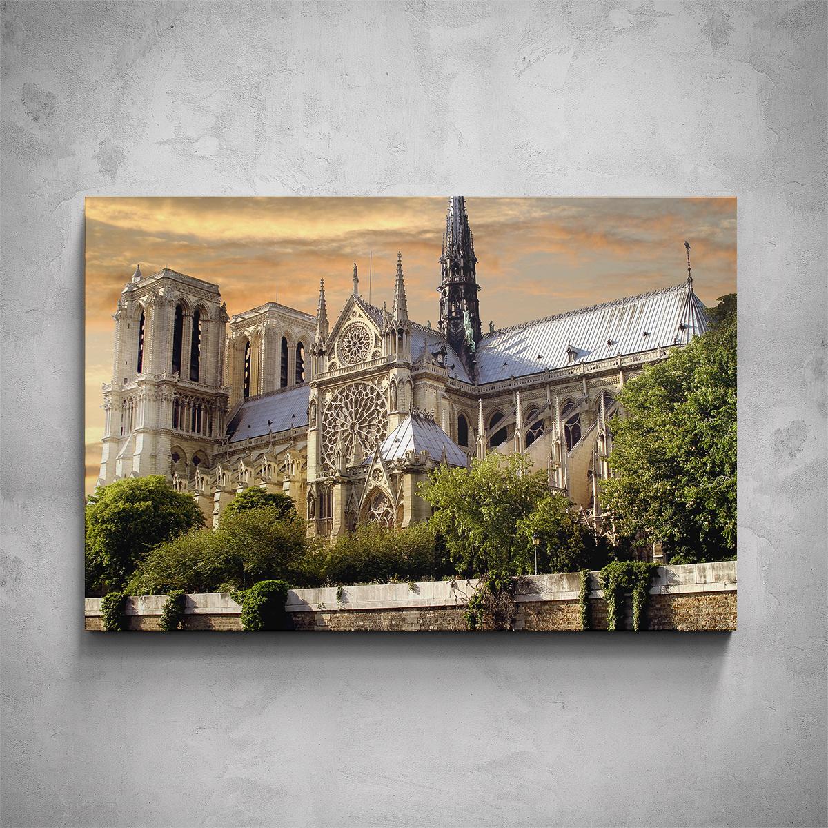 Obraz - Katedrála Notre-Dame - PopyDesign