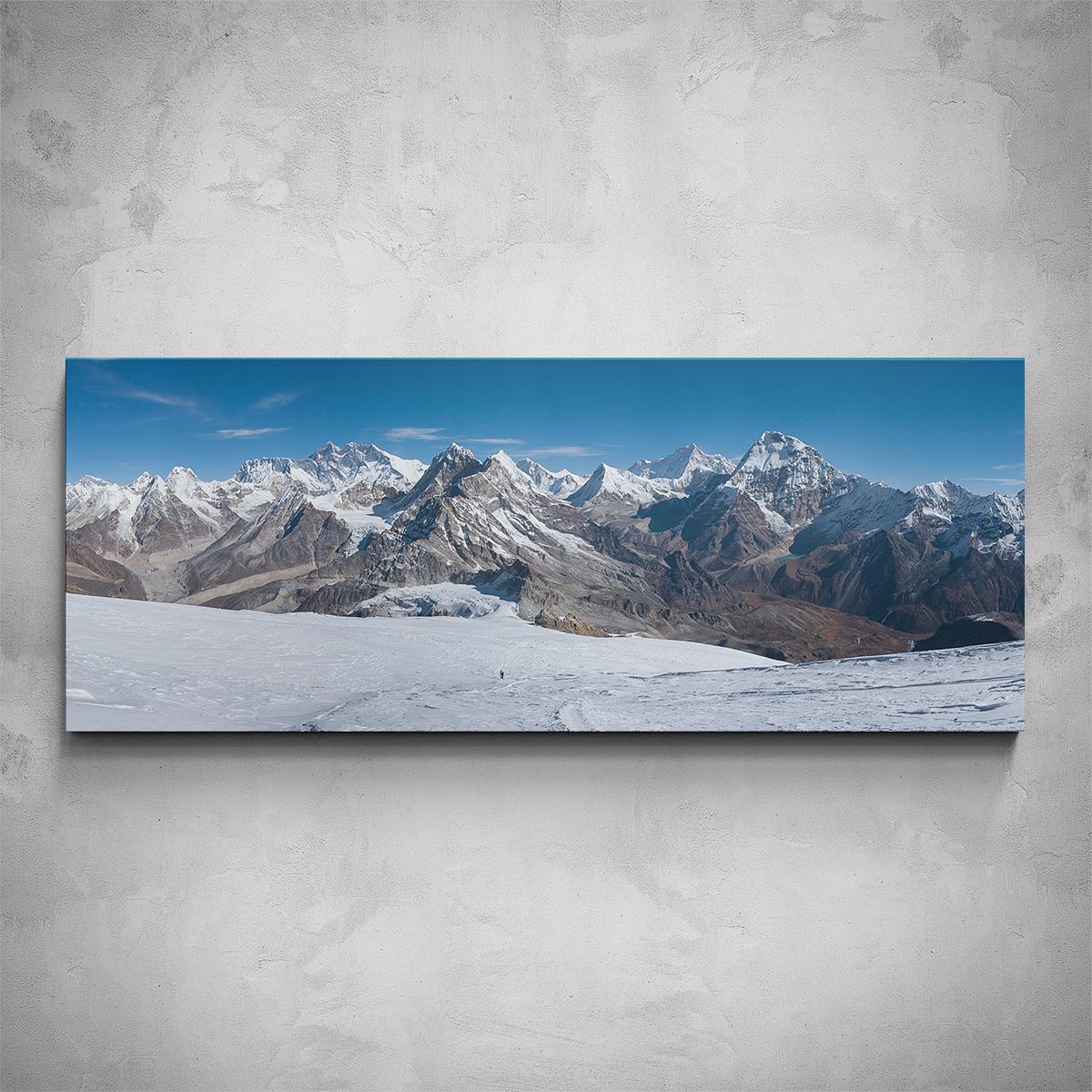Obraz - Hory panorama - PopyDesign